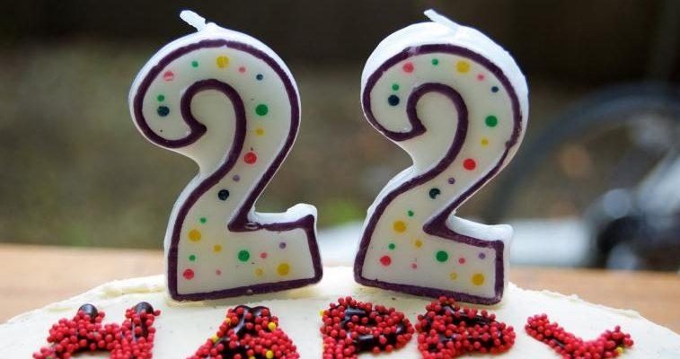 happy 22nd